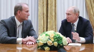Про що говорили Путін і Медведчук?
