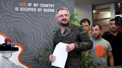 У Грузії звільнили гендиректора телеканалу, ведучий якого вилаяв Путіна