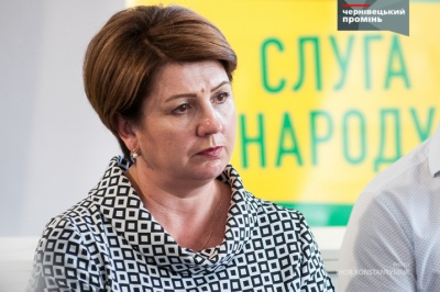 Каспрук привітав Олену Лис з перемогою на окрузі в Чернівцях