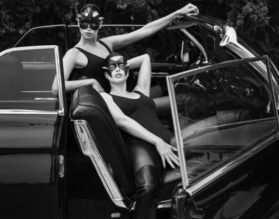 Повний БДСМ. Ірина Шейк і Адріана Ліма знялися в провокаційній фотосесії для Vogue