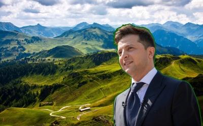 Зеленський хоче «розкрутити» українські Карпати: деталі указу