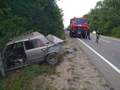 ДТП на трасі «Чернівці–Хотин»: двоє осіб отримали травми