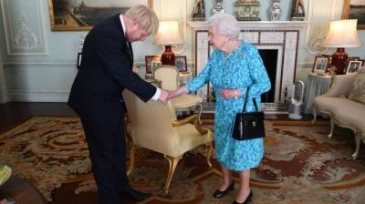 Борис Джонсон офіційно став прем'єром Британії