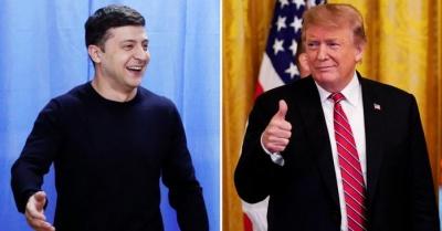 Зеленський провів телефонну розмову з Трампом