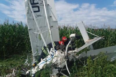 На Буковині впав дельтаплан: з'явилися фото з місця пригоди