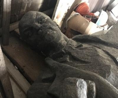 На Дніпропетровщині пам'ятник Леніну продають за 500 тисяч гривень