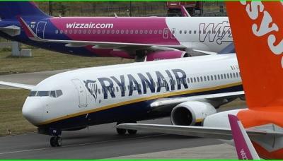 Лоукост Ryanair пропонує українцям квитки із 25% знижкою
