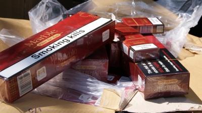 На Буковині на кордоні знову стріляли: контрабандисти втекли, покинувши 2,5 тис пачок сигарет