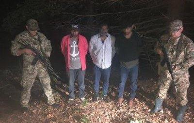 На Буковині на кордоні затримали нелегалів зі Шрі-Ланки і Пакистану