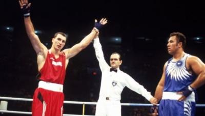 23 роки тому Володимир Кличко став олімпійським чемпіоном