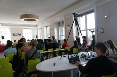 Роман Скрипін у Чернівцях: «Аби взяти інтерв'ю у вашого мера, я мушу добре вивчити ситуацію у місті»
