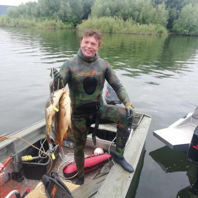 На Буковині провели чемпіонат з підводного полювання