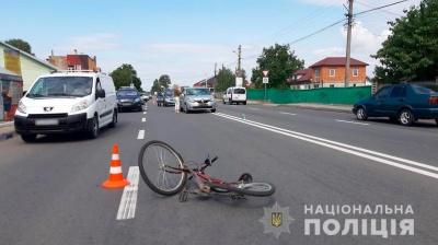 У поліції розповіли деталі ДТП з 13-річним велосипедистом у Мамаївцях