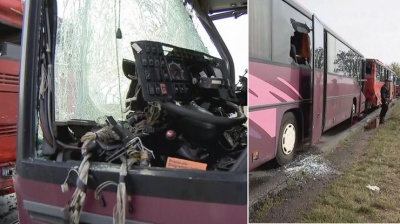 У Польщі зіткнулися два автобуси, багато постраждалих
