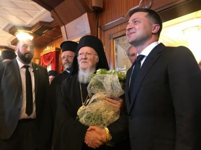 Президент провів зустріч з Вселенським патріархом Варфоломієм