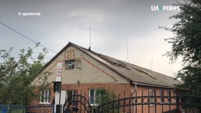 У Рівненській області пронісся смерч - відео