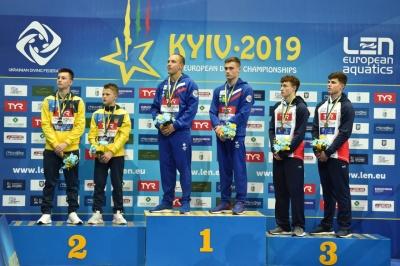 13-річний українець виборов срібло чемпіонату Європи зі стрибків у воду