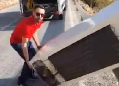 Іспанець скинув із пагорба холодильник і отримав €45 тисяч штрафу