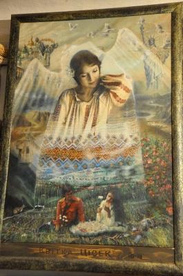 Художник з Чернівців Йосип Захандревич розповів про власну серію картин «12 величних жінок України»