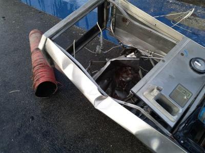 Під час заправки автомобіля вибухнув газовий балон
