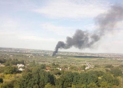 Що горить у Магалі: рятувальники розповіли про пожежу поблизу Чернівців