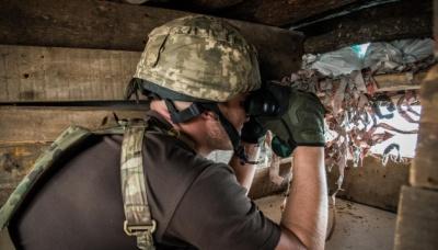З початку доби бойовики двічі обстріляли українські позиції на Донбасі