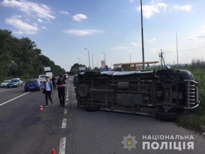 ДТП з «бусом» і легковиком у Магалі: у мережі з'явилось відео моменту аварії