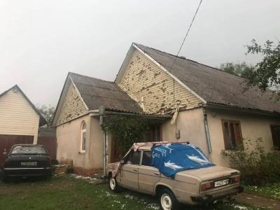 Негода у Сторожинці: рятувальники підраховують збитки