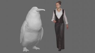 Археологи знайшли рештки пінгвіна розміром з людину