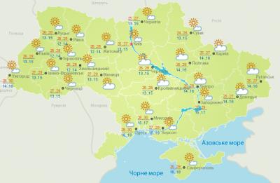 Погода на Буковині 19 серпня