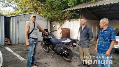 У Чернівцях затримали злодія, який викрав мотоцикл з-під носа власника