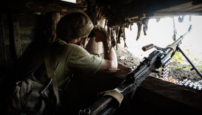 """Бойовики вісім разів порушили """"тишу"""" на Донбасі,"""