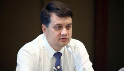 Разумков визнав, що швидко закінчити війну на Донбасі не вдасться