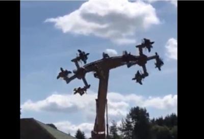 У німецькому парку розваг атракціон закрили через схожість зі свастикою