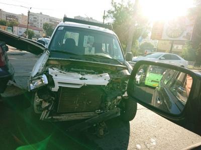 ДТП на Гравітоні: зіткнулися Ford та Citroen – фото