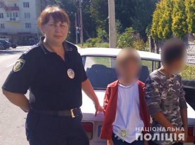 Поліція знайшла двох братів, які втекли з дитячого табору на Буковині