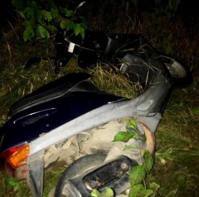 На Буковині 15-річний юнак викрав скутер
