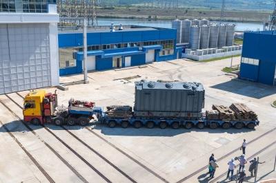 На Дністровську ГАЕС прибув надпотужний трансформатор