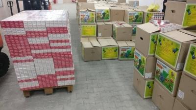 На Буковині через кордон намагались перевезти цигарок майже на 3 млн грн