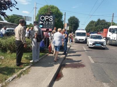 У Львові поліцейські збили двох жінок «на зебрі»
