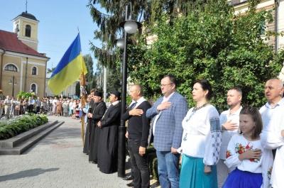 У Чернівцях відзначають День Незалежності України - фото