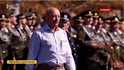 Пауля Пшенічку нагородили орденом під час святкування Дня незалежності у Києві