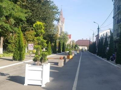 У Сторожинці з'явилась пішохідна вулиця