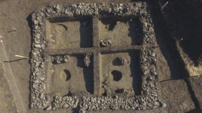 На Буковині виявили першу в Україні кам'яну споруду часів Римської імперії