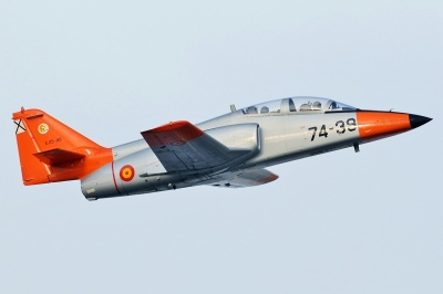 В Іспанії розбився військовий літак