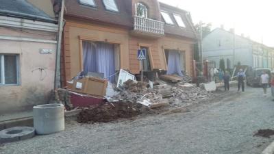 Назвали попередню причину обвалу будинку в центрі Чернівців