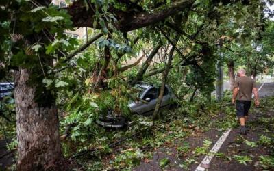 У Румунії пронісся потужний буревій: негода наробила багато лиха