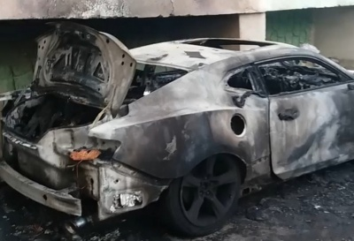 Жителі будинку на Кармелюка уже тиждень залишаються без газу через пожежу в авто