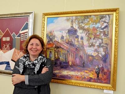 Чернівецька художниця Марина Рибачук презентує виставку до свого ювілею
