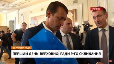 «Я на місці»: голова Чернівецької облради і нардеп Папієв зустрілися в кулуарах Ради